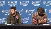 Cavaliers on Game 3 Victory _ Hawks vs Cavaliers _ Game 3 _ May 24, 2015 _ 2015 NBA Playoffs