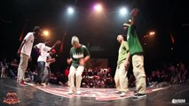Cercle Underground 6 Hip Hop FINAL Germany Team Vs Dirty Underground