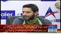 Pakistan T20 Captain Shahid Afridi Media Talk 21st May 2015 before pak vs zim match