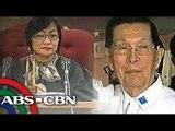 Court enters 'not guilty' plea for Enrile