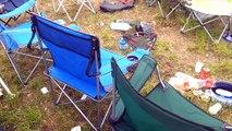 Dry ice bomb @ Festival - Will it FLASH? #19