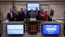 16 Nov 2011 Triangle Petroleum at NYSE rings the NYSE Closing Bell