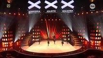 Poland Got Talent Chechen Dance - чеченцы танцуют лезгинку талант в польше