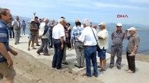 Balıkesir Burhaniye' de Deniz Kirliliği Tepkisi