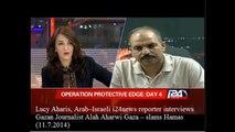Arab--Israeli reporter slams Hamas as interviews Gaza journalist