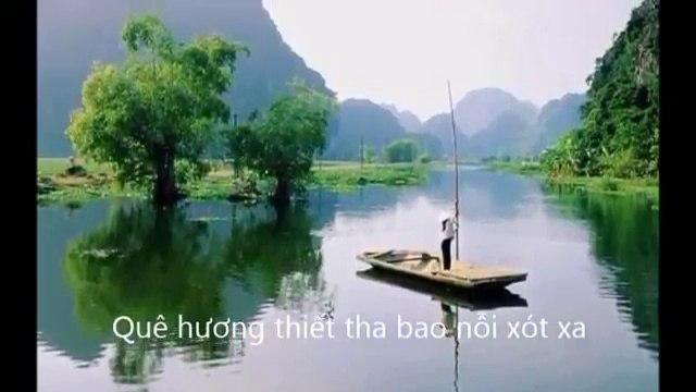 Ánh Sao Đêm giới thiệu show Quê Xa - thơ Caroline Phan  phổ nhạc với tiếng hát Cẩm Ngọc