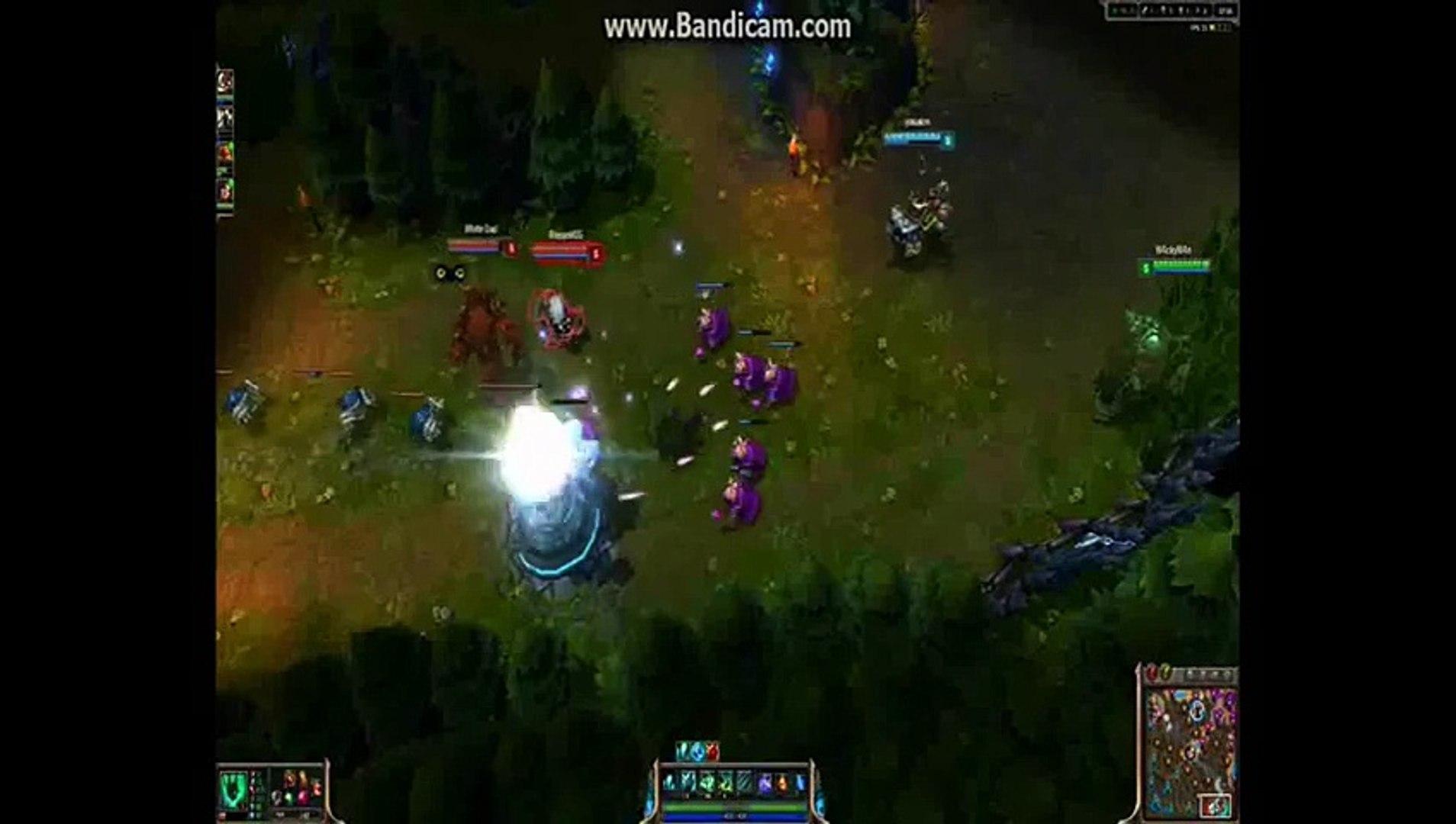 League Of Legends - Thresh Komik hareketler
