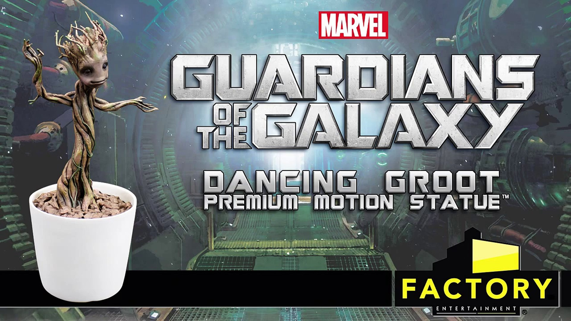 Factory Entertainment - Guardians of the Galaxy Dancing Groot Premium Motion Statue