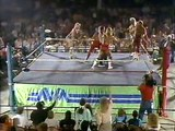 Ric Flair, Tully Blanchard & Arn Anderson vs Sting, Barry Windham & Lex Luger (NWA Main Event 04.03.1988)