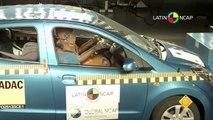 Suzuki Celerio 2013 Crash Test Latin NCAP - 2 Airbags