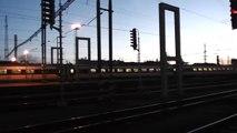 Lokomotiva Siemens ES64F4 AWT na čele nákladního vlaku - Pardubice hl.n. - 6.2.2014