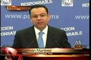 Renuncia German Martinez A Dirigenica Nacional Del PAN MILENIO NOTICIAS