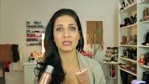 Sally Hansen Air Brush Leg Demo & Review | Vitale Style with Laura Vitale