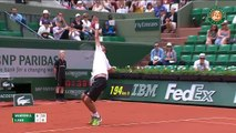 Stanislas Wawrinka vs Ilhan Highlights - French Open 2015 - ateeksheikh