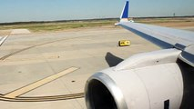 HD -- Continental Airlines Boeing 757-300 Takeoff from Houston KIAH RWY 15L -- AMAZING AUDIO!