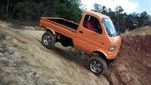 リフトアップ軽トラ クロカン 奈良トラ Japanese Mini Truck Off road suzuki