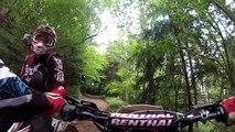 Balade enduro 50cc: 70km avec Beta et Rieju ! [GoPro]