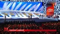 """Cannes : Jacques Audiard sacré, Vincent Lindon """"fou de bonheur"""""""