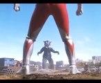 Ultraman e Ultraman Mebius vs Mefilas - Luta completa (full fight)