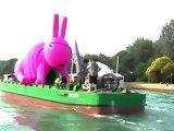 Pirate Rabbit Attacks Biennale in Venice - Biennale Venezia