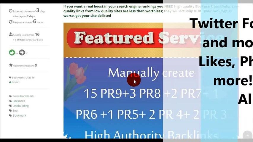 Free High PR Quality Backlinks List 2017