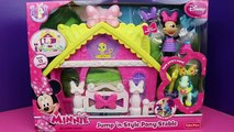 Minnie Mouse Meets Batman Ninja Turtles TMNT and Superman in Jump N Style Pony Style Stable