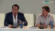 Nicolas Cage on Joe (70th Venice International Film Festival 2013)