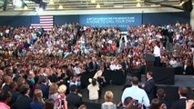 Happy Birthday Mr President! Birthday message interrupts Barack Obama's speech