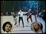 Muhammad Ali & Joe Frazier scuffle @ ABC Studios before ali/frazier II