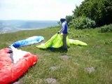 Nevsha: Bulgarian XC paragliding take off