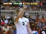 NCAA Tourney 2nd rd Hawaii Texas 4 volleyball Rainbow Wahine