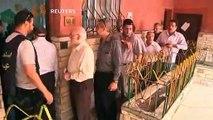 تقرير رويترز عن بداية الانتخابات الرئاسية بمصر