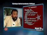 Ahmet Yenilmez-Referandum da neden evet diyeceğini anlatıyor.
