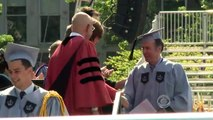 CBS Evening News with Scott Pelley - Columbia Univ. janitor becomes Ivy League grad