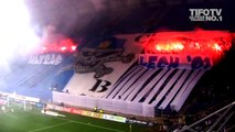 LECH POZNAN ULTRAS.. . CHOREO + PYROSHOW AGAINST SLASK WROCLAW - Ultras Channel No.1