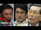Plunder cases vs 3 senators, Napoles filed