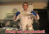 Easy Science Experiment - FIREBALL IN BOTTLE tutorial
