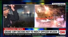 Ferguson Riots After Grand Jury Decision Ferguson Riot Crowd Protesters Tear Gassed
