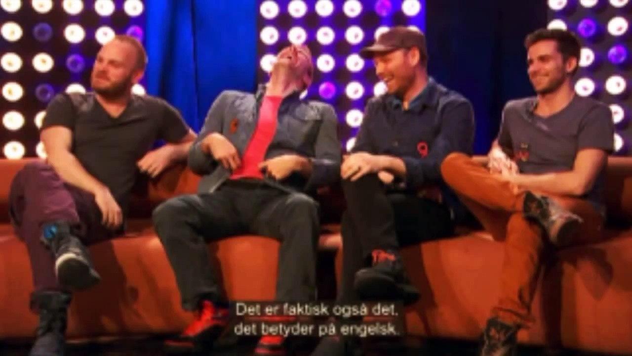 Coldplays reaktion på Jeg Sked En Bums - video