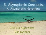Topic 03 A Asymptotic Notations