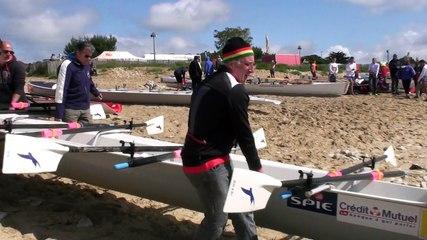 Cherbourg Aviron - La Rochelle 2015 Championnats de France