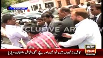 CEO AXACT Shoaib Sheikh presents new philosophy of AXACT Scam while talking to media outside SHC