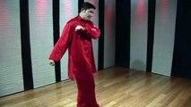 Northern Style Kung Fu Combos : Northern Style Kung Fu Combo: Shin Kick, Side Kick, Palm Slap & Arm Drag