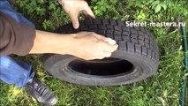 Как сделать лебедя из шины (кратко)