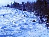Skiing Moguls At Stratton