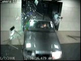 Surveillance Vid: Man Drives Through City Hall Building