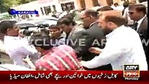 CEO AXACT Shoaib SheikhCEO AXACT Shoaib Present presents new philosophy of AXACT Scam while talking to media outside SHC