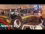 9 injured after a jeepney-tricycle collision