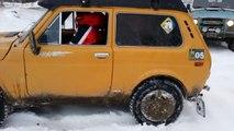 Test: Niva vs Jeep vs Uaz | Тест Нива Джип Уаз