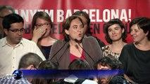 """Espagne: les """"indignés"""" aux portes du pouvoir à Madrid et Barcelone"""